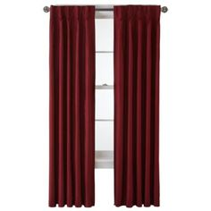 Royal Velvet® Supreme Pinch-Pleat/Back-Tab Lined Curtain Panel  found at @JCPenney