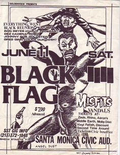 Raymond Pettibon - The Art of Black Flag (1980s) | #ASX