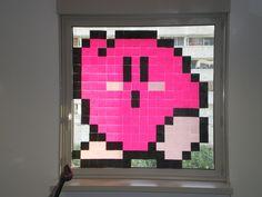 Kirby in Post-It War -- TAB activity? Bulletin board?