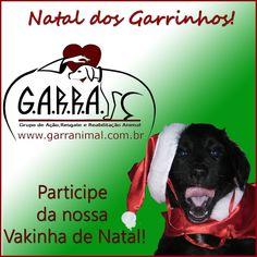 G.A.R.R.A. - Grupo de Ação, Resgate e Reabilitação Animal: Vakinha de Natal!