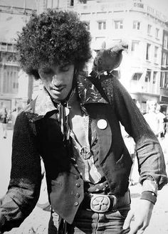 Phil Lynott of Thin Lizzy.