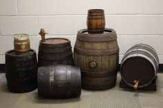 The Prop Room Toronto - Bar and Pub items Barrels : #2032 We have a large variety of barrels, large and small., for rent.