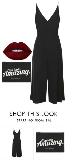 """""""Untitled #4974"""" by adi-pollak ❤ liked on Polyvore featuring Topshop, Forever 21 and Lime Crime"""