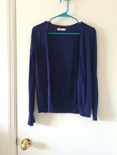 Own - grape cardigan
