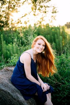 Senior Girls Red hair Photo By Kelly Kate Photography