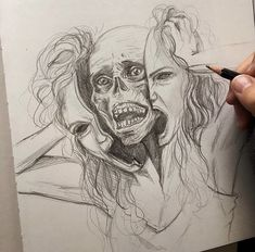 [New] The 10 Best Drawing Ideas Today (with Pictures) - Arte Horror, Horror Art, Kunst Online, Online Art, Drawing Sketches, Art Drawings, Drawing Ideas, Sketching, Bio Art