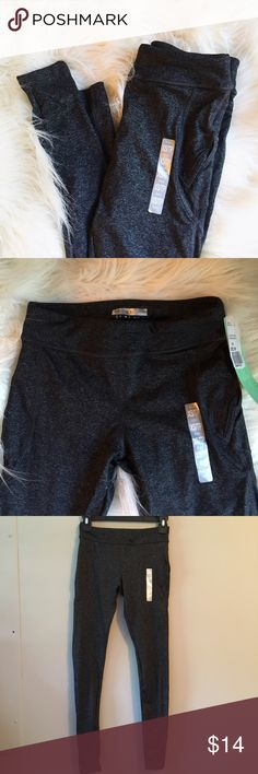 Active Wear: Dark grey work out leggings Perfect condition. Never worn. Forever 21 Pants Leggings