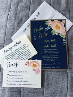 Invitations by The Paper Bride • custom order? Contact me today www.facebook.com/ThePaperBrideConsultantRebecca Invitation Design, Invitations, Marriage, Fancy, Bride, Facebook, Paper, Cards, Wedding