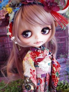 Super cute Japanese Custom Blythe Doll   #rinkya #japan #blythe #blythedoll #customblythe
