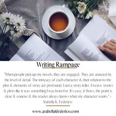 It's time to rampage! #writingcommunity #writers #authors #writingrampage #positivity #inspire #motivation Story Quotes, Author Quotes, Advice Quotes, Writing Quotes, Writing Advice, Great Quotes, Quotes To Live By, Authors, Writers