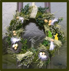 1000 images about t rkranz on pinterest easter wreaths wreaths and spring wreaths. Black Bedroom Furniture Sets. Home Design Ideas