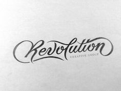 Revolution Media Group by Ryan Hamrick, via Behance