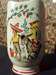 Crown Ducal Ware Vase (Collectible Kitsch)