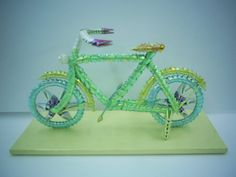 3D Origami - Modern Bicycle