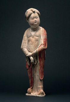 Court lady, China, Tang period, 8/9th century