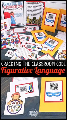 Try this fun escape style game with your students! Your class will try and breakout of the classroom, by solving a string of literacy questions, based on figurative language. Kids in third grade, fourth grade, and fifth grade will be begging you for more games like this! Your class won't even know they are doing a language arts activity, because they will be having too much fun. Try this engaging lesson today!