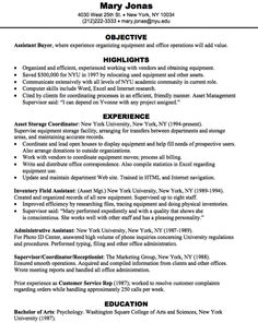 assistant buyer resume sample httpexampleresumecvorgassistant buyer - Forklift Operator Resume Sample