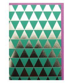 Geometric Xmas card