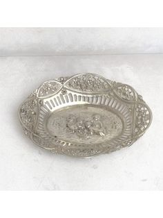 Biedermeier Schale ca. 1850 Silber) ID: Soap, Personalized Items, Baroque, Objects, Silver, Soaps