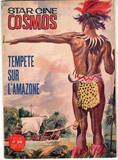 STAR CINE COSMOS 71 année 1964 TEMPETE SUR L AMAZONE TBE