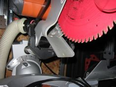 Dust collection... for the mitre saw.. - by degoose @ LumberJocks.com ~ woodworking community
