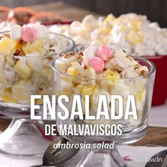 Ensalada de Malvaviscos - Nosy Tutorial and Ideas Dessert Salads, Dessert Recipes, Mexican Food Recipes, Sweet Recipes, Crowd Recipes, Comida Diy, Cooking Roast Beef, Tasty, Yummy Food