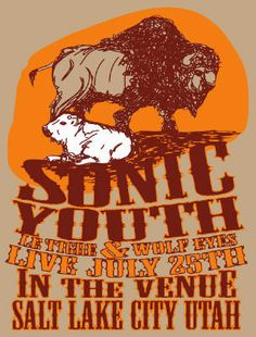 Sonic Youth, Le Tigre.... gig posters | The Indie Rock Desk: – Music Advice Center Discussions – Last.fm