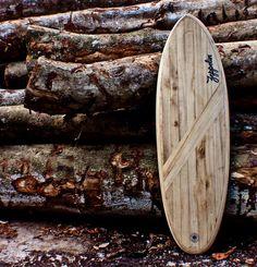 Wooden Surfboard by Zeppelin Taiwan