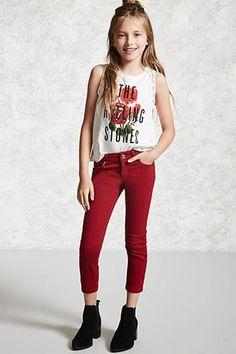 Girls Skinny Ankle Jeans (Kids)