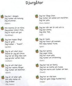 Mariaslekrum - Illustrerade gåtor. Swedish Quotes, Learn Swedish, Swedish Language, Easy Science, Classroom Inspiration, Science Lessons, Preschool Crafts, Special Education, Kids And Parenting