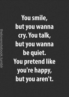 No Need To Hide Sorrow Behind A Smile Wit h These 29 Comforting #Fake #Smile #Quotes