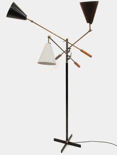 "Arredoluce ""Triennale"" Floor Lamp Italy 1950s"