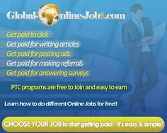 Where can i get a job to work online and ge paid?