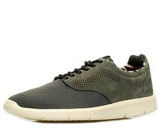 Modell Iso - Trend Sneaker von Vans, ultraleicht und flexibel! Textilfutter, softer Auftritt durch Memory- Fußbett, PU Laufsohle, Obermaterial: High Tec/ Velourleder, Farbe: grau   http://www.belvero.de/vans-vn-o-xb8fih-iso-sneaker-grau