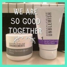 Banish Blackheads, mild acne and oily skin with these two simple steps from RODAN + FIELDS!  Message me today to find out more on how the #1 skincare brand in the US can change your life  luxe.co.kelsie@gmail.com  kmoore21.myrandf.com