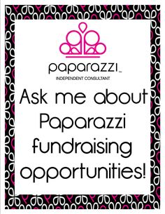 Ask me about fundraisers! Mission trips...Habitat for Humanity! Helping meet needs through Paparazzi!