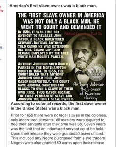 Wow and they say the white man started it all when it was the black man. Guess they need to pick up a history book Slavery History, Us History, History Books, American History, Weird History Facts, Black History Facts, White Guilt, Political Strategy, Reality Check