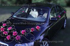 výzdoba svatebního auta - Hledat Googlem
