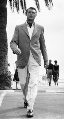 Cary Grant always dressed to perfection.