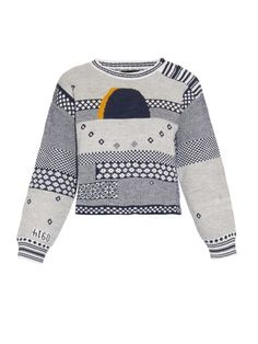 Rachel Comey Eclipse jacquard cotton and alpaca-blend sweater