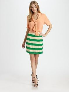 Miralli Striped Skirt