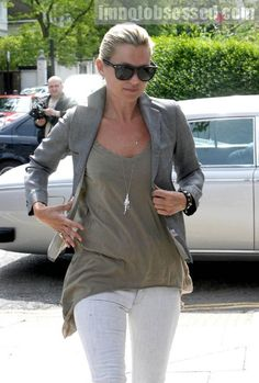 Kate moss casual style