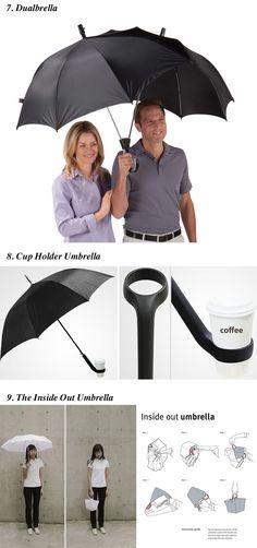 Dias de chuva são sempre complicados, mas quem disse que eles não podem ser também divertidos e criativos?  Aqui vai umaseleção de 15 guarda-chuvas cheios de estilopara você não pegar um resfriado por aí.                Via...