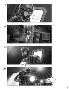"""""""Captain America: The First Avenger"""" storyboards - Album on Imgur"""