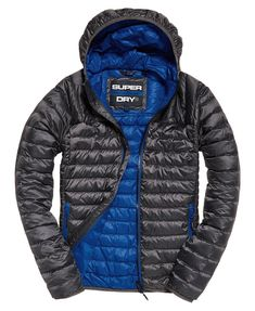 Superdry Chromatic Core Down Jacket - Mens Down Jackets Superdry Jacket Men, Mens Down Jacket, Mens Fashion Blazer, Winter Mode, Fabric Material, Women Lingerie, Parka, Jackets For Women, Winter Jackets