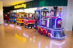 Trenea Infantiles EXPRESSO AVENTURA Jukebox, Adventure, Shopping Malls, Electric Motor, Trailers