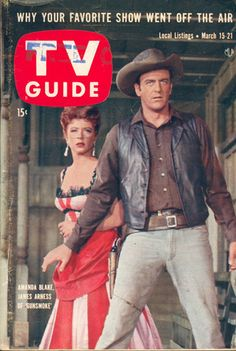 Gunsmoke on cover of TV Guide
