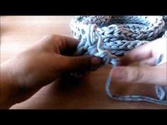 Cómo hacer una bufanda de trapillo con los dedos