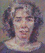 Chuck Close. Elizabeth. 1989. Courtesy of the Museum of Modern Art.