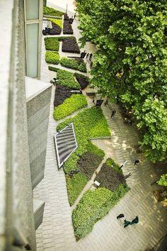 Nanjing Green Land Zifeng Building / Sasaki Walker Associates #landscape #green #china